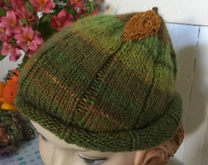 Woolpops Hand Knit Autumn Beanie Hat