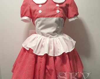 Little Sister Dress in Polkadot