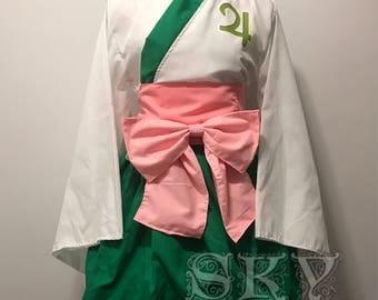 Sailor Jupiter Kimono Dress