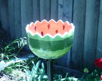 Watermelon Bird Feeder or Bath