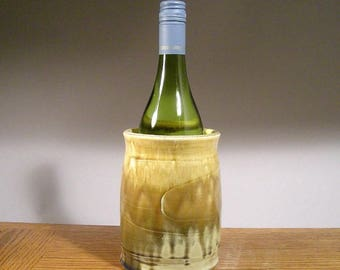 Wheel Thrown , Stoneware Wine Chiller , Pottery Wine Chiller , Wine Chillers , Asparagus Keeper , Jon Whitney Pottery