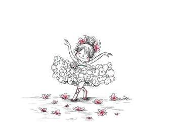 Tiny Dancer -  8x10 ART PRINT