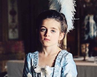 The Princess Marie Antoinette Gown • Custom Eighteenth 18th Century Colonial Georgian Custom Princess Dress Gown Costume gown