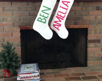 Personalized Christmas Stockings - Pre-Order Until October 1