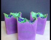 Lovely Lilac Soap - Lilac Soap - Bar Soap - Soap From Scratch - Artisan Lilac Soap - Spring Soap