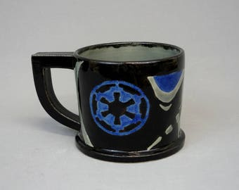 Imperial Tie Fighter Pilot Star Wars Coffee Mug