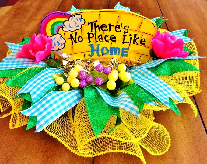 There is No Place Like Home Wizard of Oz Centerpiece