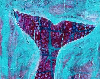 dive deep  - ART CARD - ecofriendly