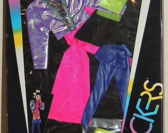 1985 Barbie and the Rockers Fashions in Original Box