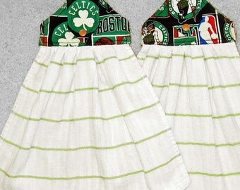 Boston Celtics Hanging kitchen towels