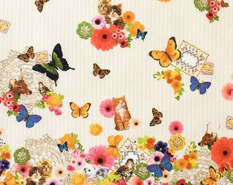 Kokka Japanese Textiles - Candy Party in Multi