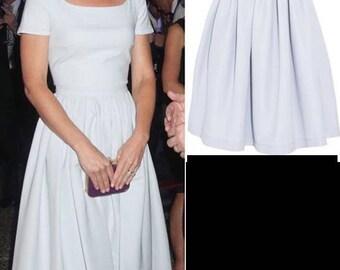 kate middleton swing blue dress celeb inspired custom made