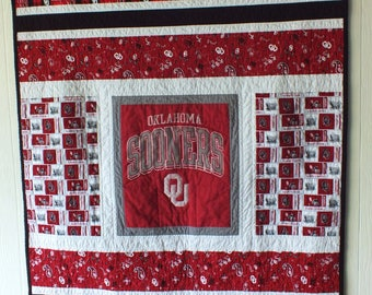 OU Sooners Baby Quilt