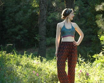 Festival Pants / Beach Pants / Summer Pants / Gypsy Chic / Boho / Hippie / Yoga Pants