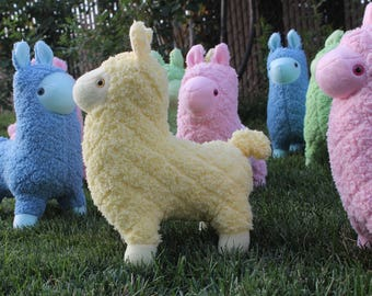 Yellow Plush Llama