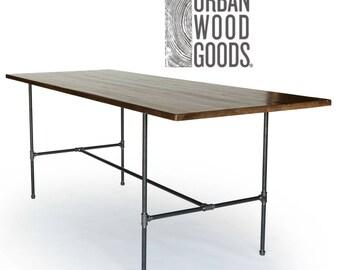 Superb Reclaimed Wood Bar Table, Counter/Bar Height Wood Table, Reclaimed Pub Table .