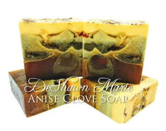 3.5 lb Soap Loaf -SOAP - . Anise Clove Soap Loaf, Vegan Handmade Soap, Wholesale Soap Loaves, FREE SHIPPING