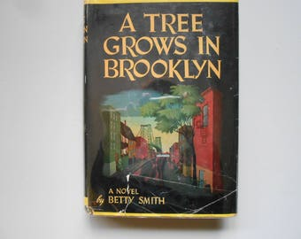 A Tree Grows in Brooklyn, a Vintage Book by Betty Smith, 1943