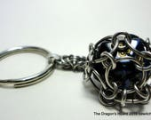 MADE TO ORDER - Captured D20 Keychain