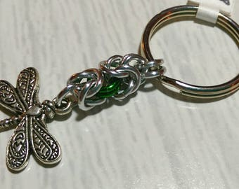 Dragonfly keychain - choice of colors