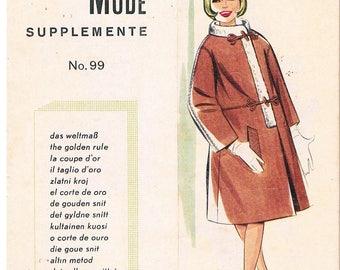 Vintage Lutterloh System - The Golden Rule Supplement No.99, 1960's