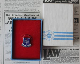 Vintage Law Pin Tie Tack Vintage Reverentia Legum Tie Tac  Vintage Reverentia Legum Collar Pin Law Leaf Sword Arrow Torch Shield