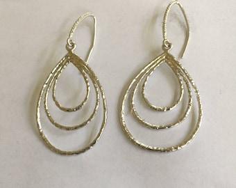 Silver Design Earrings