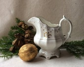 Antique Staffordshire Milk Jug - creamer - GentlemanlyPursuits-Tea set