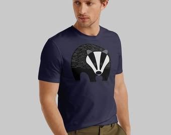 T-shirt, men's Badger t-shirt, dad shirt, gift for him