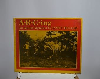 A-B-C-ing Vintage child's picture book