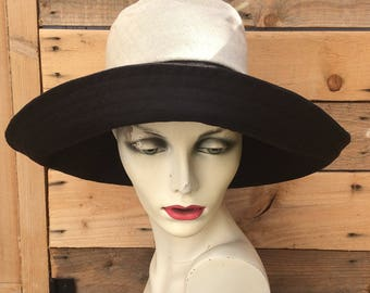wide brim linen sunhat,reversible sun hat,linen hats for women,sun hats linen,Over to you,travel hat,wide brimmed summer hat,recycled fabric