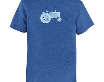 Kids Farming Shirt - Tractor shirt - Kids Shirt - Farm Shirt - Farmer Youth Boys or Girls T Shirt - Colors Available - Gift Friendly