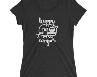 Happy Camper Triblend Tee
