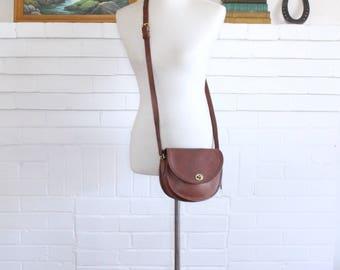 Vintage Coach Bag // Crossbody Watson Bag British Tan Leather 9981 // Messenger Purse Handbag