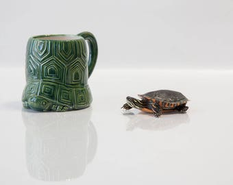 Sea Turtle Decor | Coffee Mug | Sea Turtle | Turtle Gift handmade from my Charleston, SC Studio
