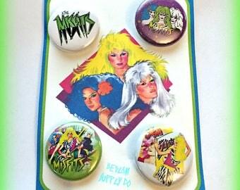 """The Misfits 1"""" Button Set"""