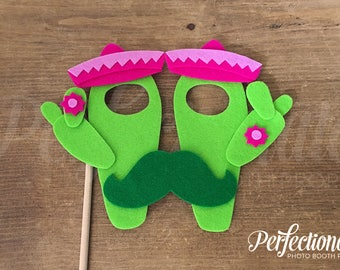 Cactus Glasses Photo Booth Prop | Cactus Party Props | Fiesta Baby Shower |  Fiesta Party Props