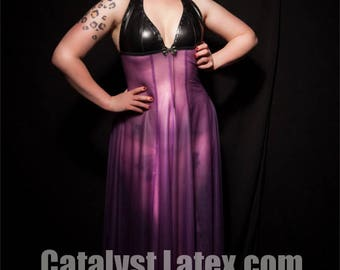 Latex Night Gown
