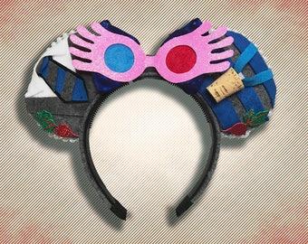 Luna Lovegood Mouse Ears w/ Bow