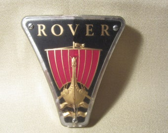 VTG 1963 Rover 2000C Grill Emblem In Good Condition-Some Damage