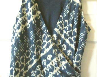 Ralph Lauren Silk Linen Top, 14