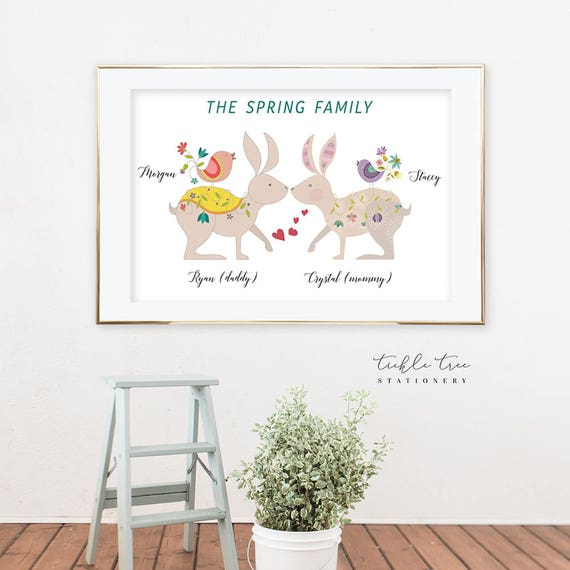 Art Print - Our Love Connection, Family (W00005)