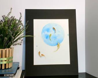"""""""Flow"""" Original Watercolor Art"""