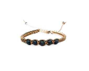 Lava Bead Bracelet, Essential Oil Bracelet, Lava Stone Bracelet, Meditation Bracelet, Yoga Bracelet, Chakra Bracelet, Lava Rock Bracelet