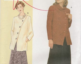 Top & Skirt Pattern Vogue 7471 Size 24-32 Bust 46-55 Uncut