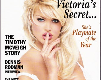 Vintage, Playboy Magazine June 1997 With Victoria Silvstedt, Basketball Star Dennis Rodman, Carmen Electra, Julianna Margulies, Al Sharpton