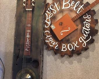 RUST BELT CBG's  Lapsteel 6 string Guitar