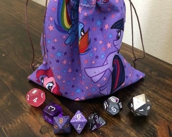 My Little Pony Dice Bag, Dungeons and Dragons, D&D, DnD