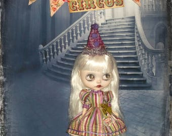 Blythe ~ Vintage Circus Inspired 2 Piece Outfit with Pintucking~ By KarynRuby