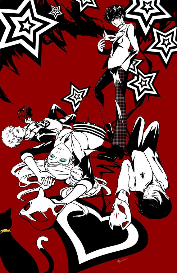 persona 5 high quality poster